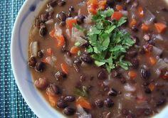 Bean soup on Pinterest | Black Bean Soup, White Bean Soup and White ...