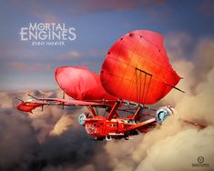 mortal engines airship - Google Search Post Apocalyptic Movies, Mortal Engines, Steampunk, Lego Models, Lego Projects, Post Apocalypse, The Brethren, Lego Moc, Cool Lego