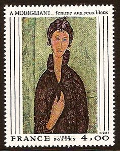 modigliani on postage stamps - Google Search