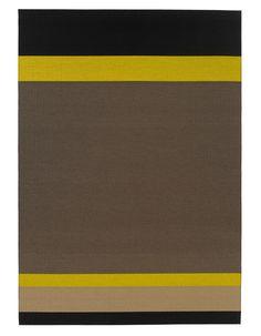 Woodnotes paper yarn carpet Panorama col. black-natural.