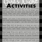 {Girls Night} The Girl's Night Club Party Ideas