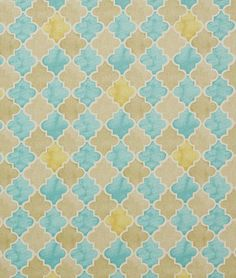 Pindler & Pindler Alimosa Aqua Fabric - $27.55 | onlinefabricstore.net