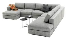 Modern Celano sofas - Quality from BoConcept - I would love a couch like this. It would appease my husband's need for a sectional and comfort, but the style and sleekness I desire.
