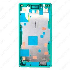 https://flic.kr/p/SWGfmq | sony cell phone parts | sony accessories Canada | Sony Xperia Z3 Compact Front Housing Frame Replacement Part - Green CA$67.99