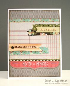 Created by Sarah M using the Simon Says stamp June 2013 Card Kit.