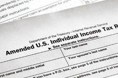 Forget to include something on your tax return? You can amend it! #taxes #taxreturn #Liberty