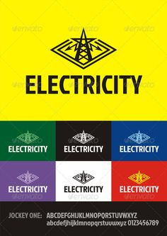 Electricity - Logo Design Template Vector #logotype Download it here: http://graphicriver.net/item/electricity-logo/3137473?s_rank=857?ref=nesto