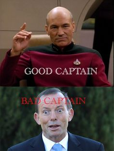 Tony Abbott is a bad captain