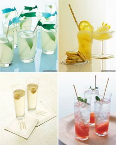 It's never too early to discuss #cocktails @Trendy Hotspots Find your signature drink at marthastewartweddings.com