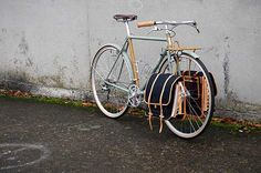 Pretty rad - front rack and panniers.