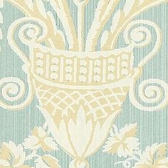 LAMPAS, Blue, T5828, Collection Great Estates from Thibaut