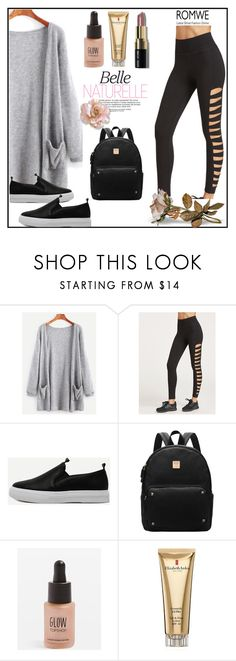 """""""Romwe6"""" by adelisa56 ❤ liked on Polyvore featuring Topshop, Elizabeth Arden, Bobbi Brown Cosmetics and romwe"""