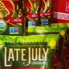 Best snack chips - Late July - All natural and GMO free! Organic Chips, Organic Snacks, Organic Recipes, Gluten Free Chips, Gluten Free Brands, My Favorite Food, My Favorite Things, Kids Menu, Nut Allergies