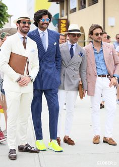 Men in white pants Follow Us : MenStyle1... | MenStyle1- Men's Style Blog