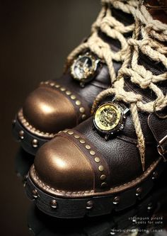 亗 Dr. Emporio Efikz 亗 — Steampunk skypirate boots