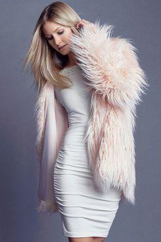 Rella Coat in Blush