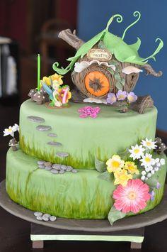 Tinkerbelll Cake