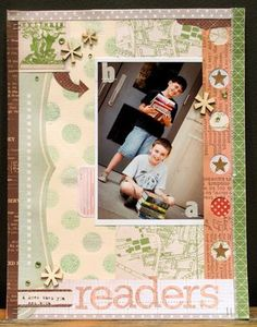 project by Lisa Truesdell (@gluestickgirl) featuring AUTUMN PRESS