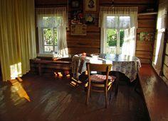 Деревенская изба - Щилина Тамара / Village hut by Tamara Shchilina