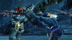 "THQ has just released a single screenshot from their forthcoming third-person action adventure title Darksiders II. The image depicts the game's protagonist Death in battle with the hero of the first game Darksiders, along with the quote ""What starts with War ends with Death!"" No idea if we get to play as War once again, or if the image is teasing some sort of showdown between the brothers/horsemen of the apocalypse, but they have my ...."