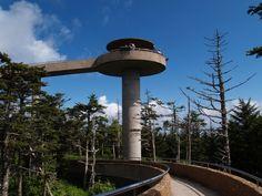 Clingman's Dome  Great Smokey Mt National Park