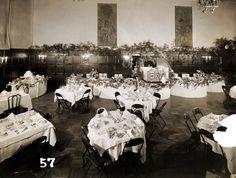 University Club of Portland, Main Dining Room, 1957 #universityclubofportland #uclubpdx