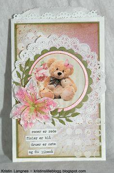 Kristins lille blogg: Søt bamse