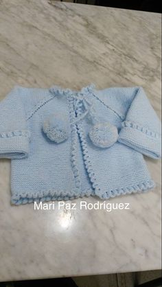 Knit Baby Sweaters, Baby Hats Knitting, Knitting For Kids, Baby Knitting Patterns, Baby Patterns, Crochet Patterns, Crochet Baby, Knit Crochet, Baby Kimono