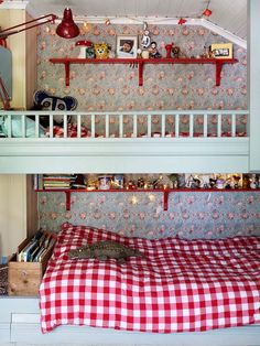 Ideas and inspiration Kid Spaces, Color Pop, Colour, Home Decor Inspiration, Country, Children, House, Kids Rooms, Furniture