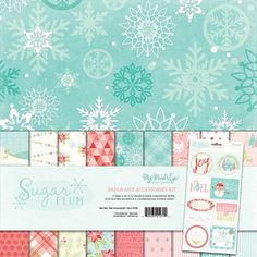 My Mind's Eye SUGAR PLUM 12 x 12 Paper And Accessories Kit SP1020