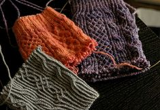 See Eunny Knit!: Collection of 4 Twisted Stitch Patterns {charted}.