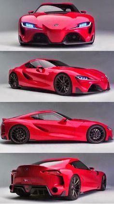 El nuevo Toyota Supra 'FT-1.