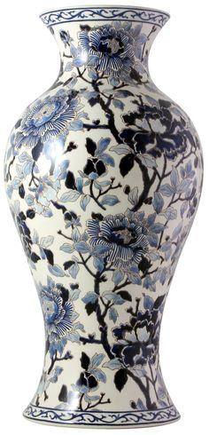 #Gien - collection Prestige Pivoines bleues - printemps 2015 - Gien http://www.gien.com/