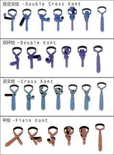 tie knot tutorial