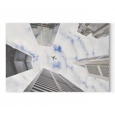 Repülő a város felett