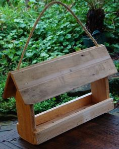 pallet bird feeder - Google Search