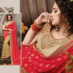 Designer Indian Bollywood Wedding Bridal Party Wear Latest Saree Free Shipping #Shoppingover #Saree