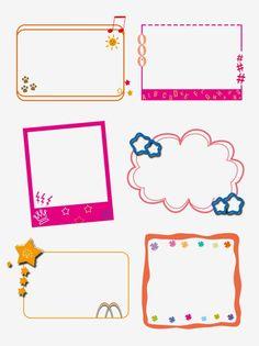 Star Clipart, Cute Clipart, Frame Clipart, Clipart Images, Scrapbook Background, Background Banner, Scrapbook Frames, Page Borders Design, Border Design
