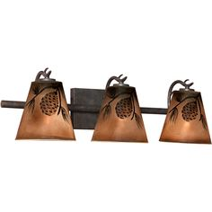 Rustic Bathroom Light Fixtures rustic cabin lighting. electric lantern wall fixture from