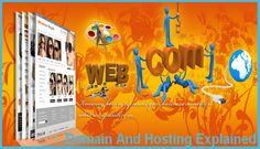 Domain And Hosting Explained   #WebHostingVsDomain  #HostingForYourDomain