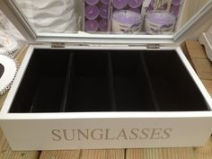 Sunglasses box €11,95 @ Tuincentrum Boers