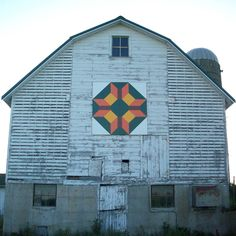 Green County Barn Quilts - Wisconsin Star, Monroe, WI
