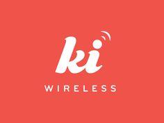 Dribbble - Ki Wireless Logo by Jenifer Bulcock