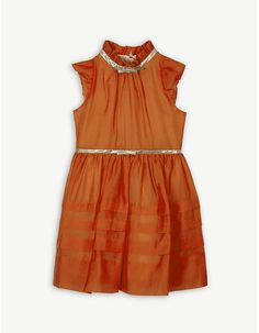 Hucklebones Frill bow dress