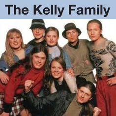 1974, The Kelly Family, United States #TheKellyFamily (L16244)