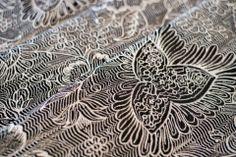 Pavo Textiles Etini Coal | Marsupial Mamas, LLC