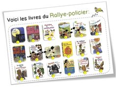 Rallye-lecture policier CE1-CE2