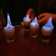 #b55 #b52 #kingston #cocktail #bar #zilina #žilina #flaming #shot #hot