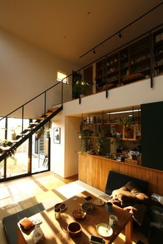 Save A Fortune With These Interior Design Tips Loft Interior Design, Interior Exterior, Interior Architecture, Interior Decorating, Japanese House, Cool House Designs, Home Living Room, Interiores Design, Home Goods