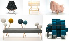 #ArchiPanic: Made Exhibition, The New Textile furniture Stockholm Furniture Fair - @ #SFF2014  http://www.archipanic.com/the-new-textile-furniture/